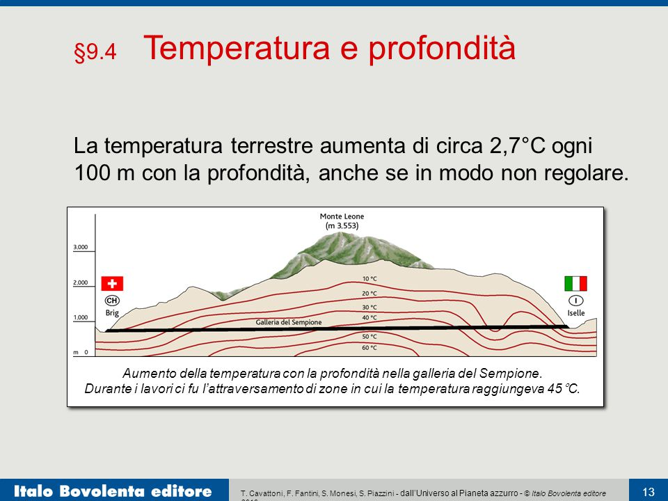 §9.4 Temperatura e profondità