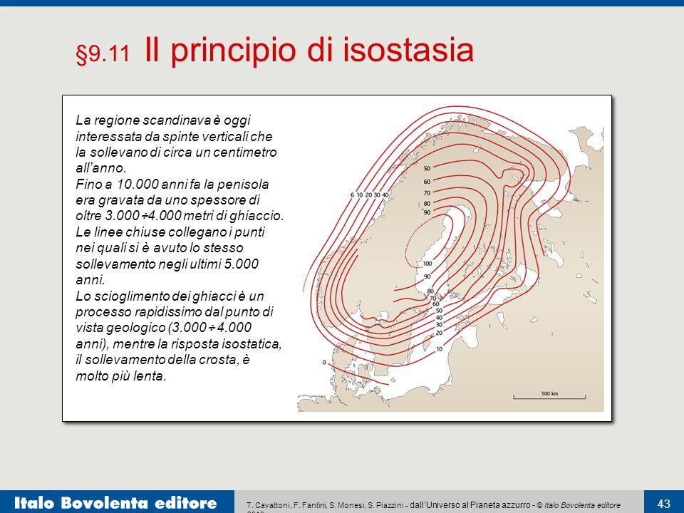 §9.11 Il principio di isostasia