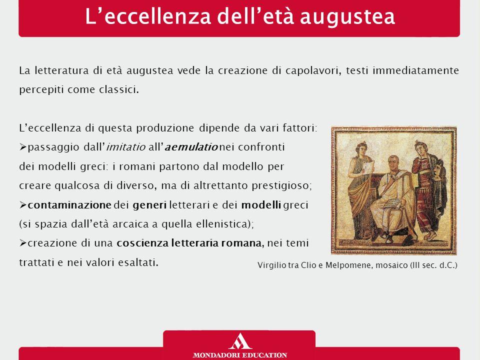 L'eccellenza dell'età augustea