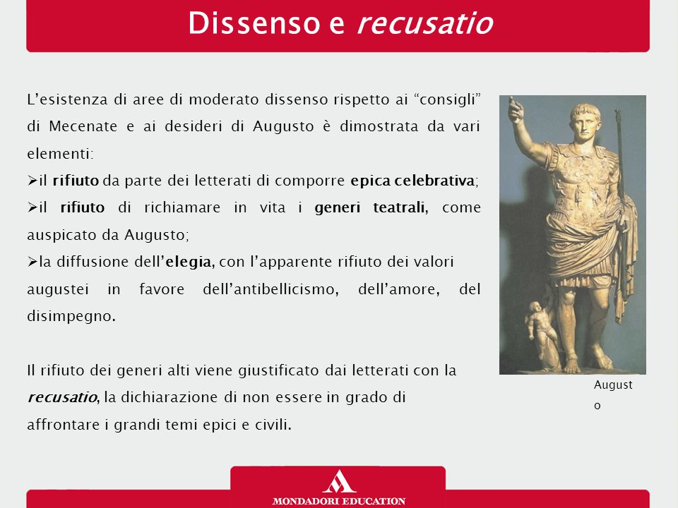 Dissenso e recusatio 13/01/13.