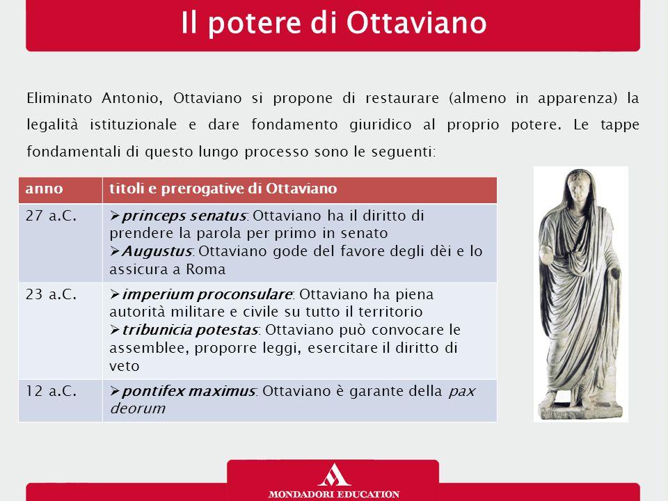 Il potere di Ottaviano 13/01/13.