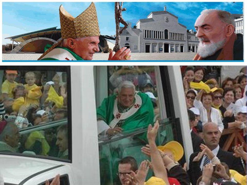 Tra le altre cose, il Papa ha detto: Le stigmate lo unirono intimamente a Cristo crocifisso e risorto, come già era avvenuto a San Francesco d'Assisi e San Paolo
