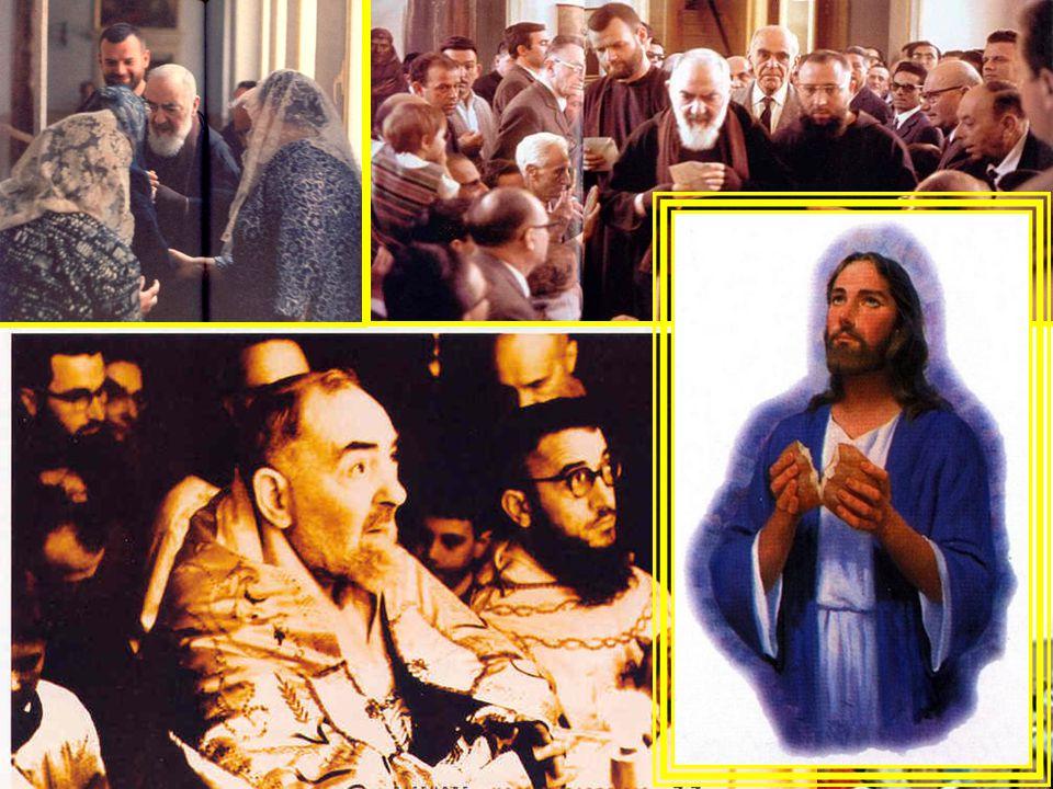 Ma la prima preoccupazione di Padre Pio fu questa: Che le persone ritornassero a Dio, che potessero sperimentare la sua misericordia e, interiormente rinnovate, riscoprissero la bellezza e la gioia di essere cristiani, di vivere in comunione con Gesù, di appartenere alla sua Chiesa e praticare il Vangelo .