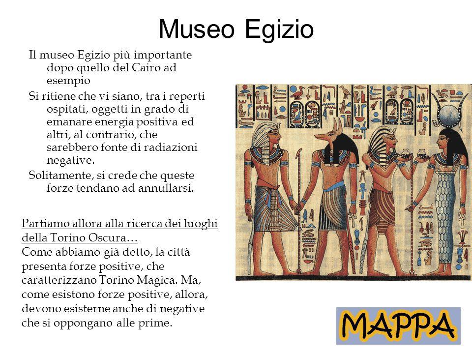 Museo Egizio Il museo Egizio più importante dopo quello del Cairo ad esempio.