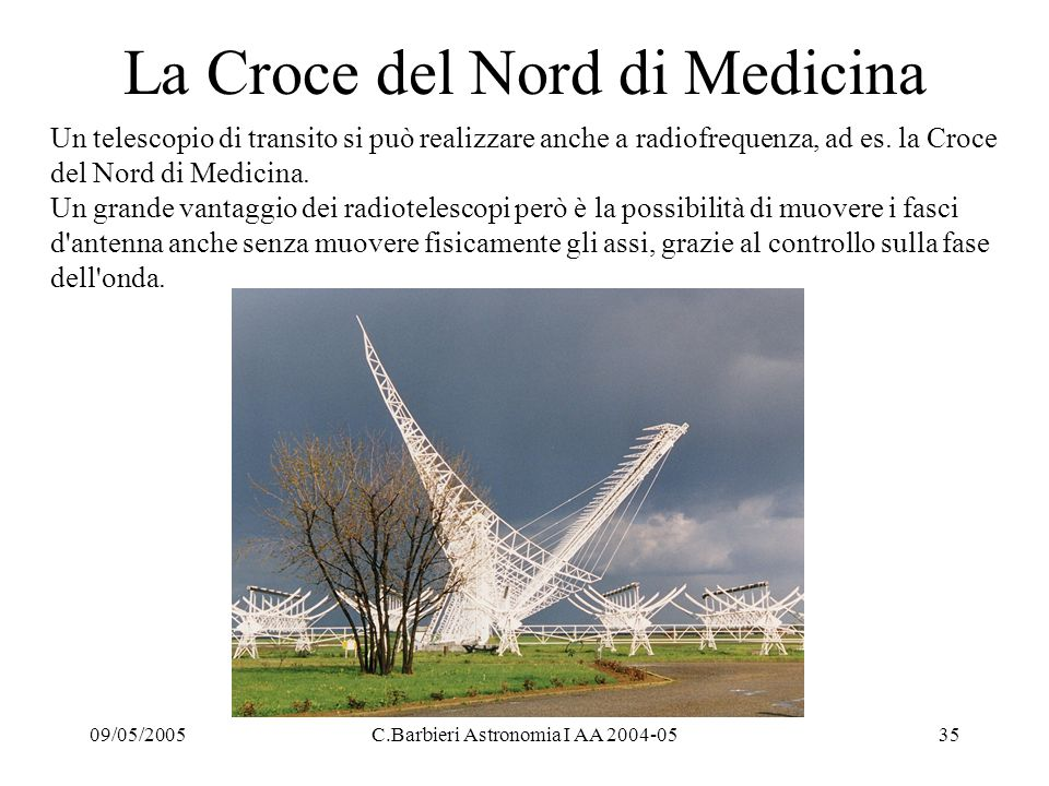 La Croce del Nord di Medicina
