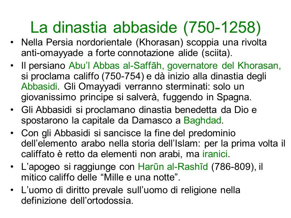 La dinastia abbaside (750-1258)