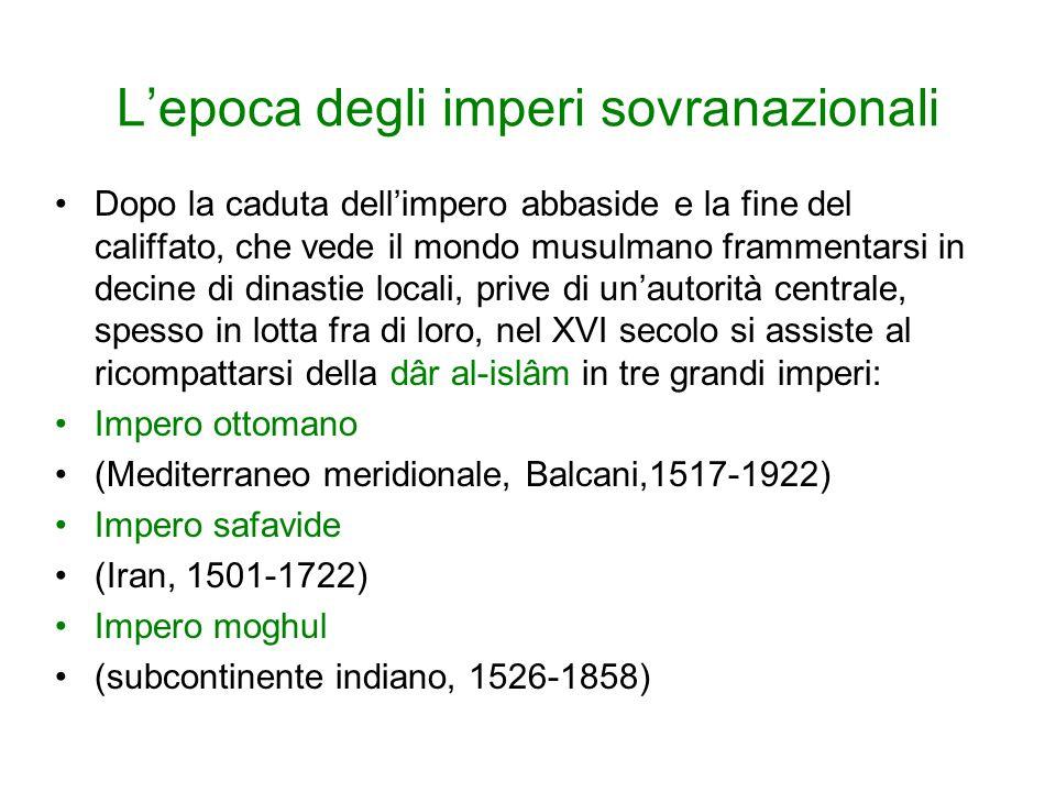 L'epoca degli imperi sovranazionali