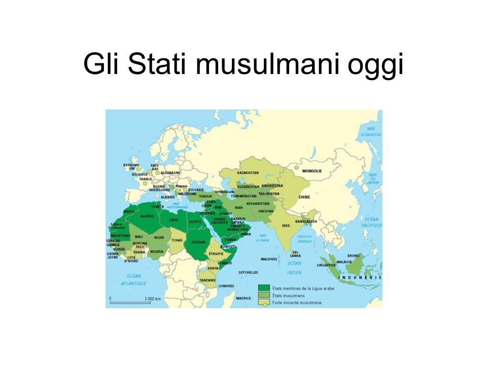 Gli Stati musulmani oggi