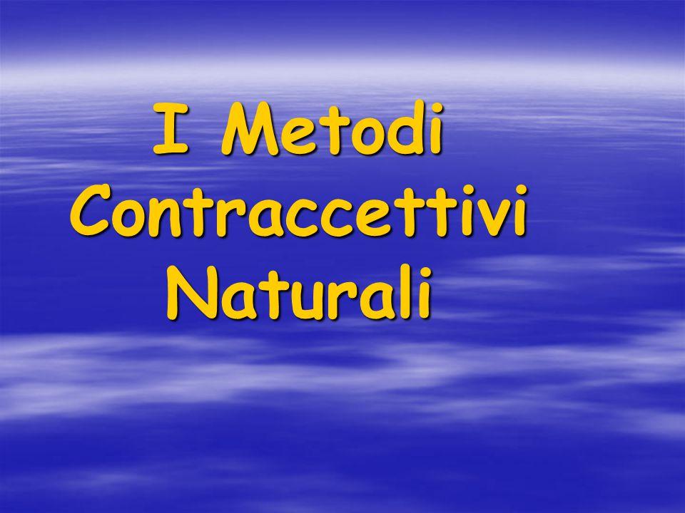 I Metodi Contraccettivi Naturali