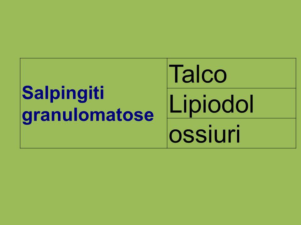 Salpingiti granulomatose