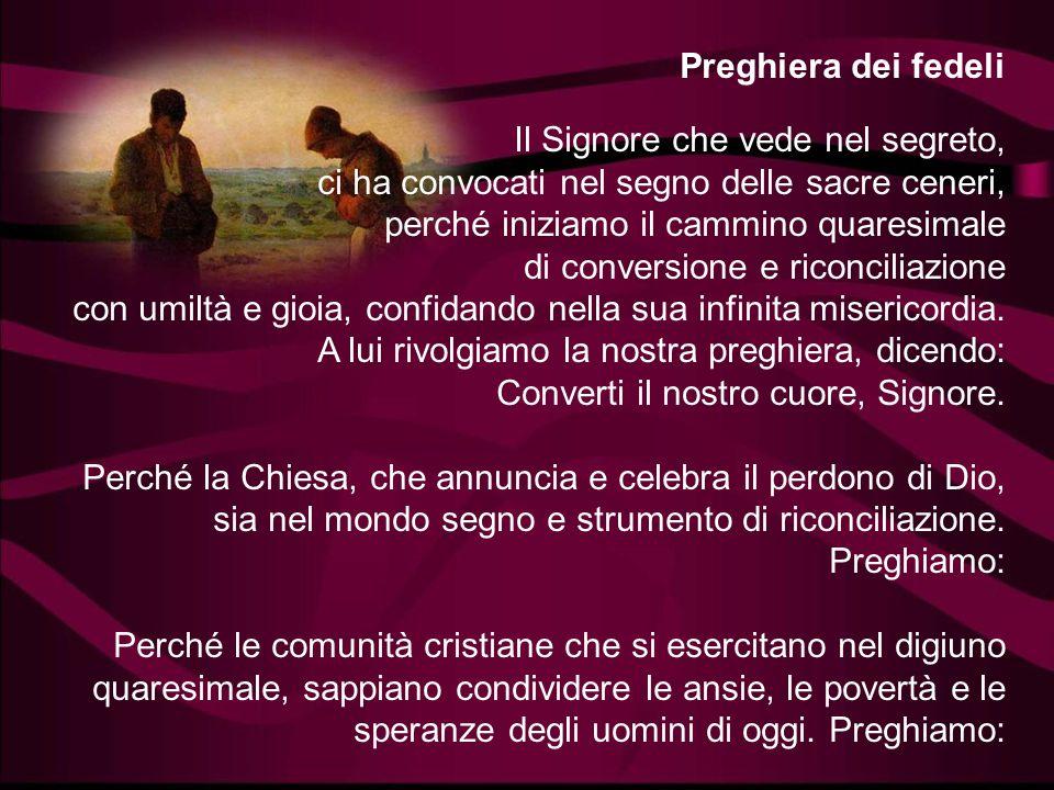Preghiera dei fedeli
