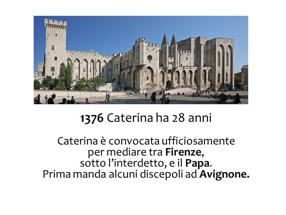 1376 Caterina ha 28 anni Caterina è convocata ufficiosamente