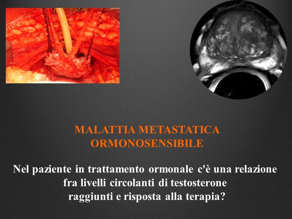 MALATTIA METASTATICA ORMONOSENSIBILE