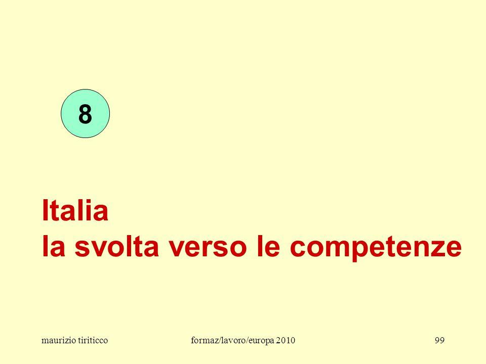 Italia la svolta verso le competenze