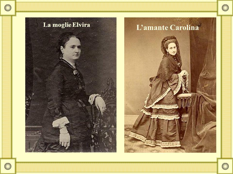 La moglie Elvira L'amante Carolina