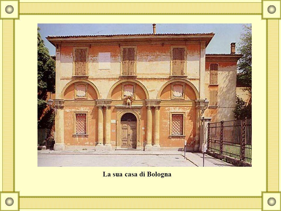 La sua casa di Bologna
