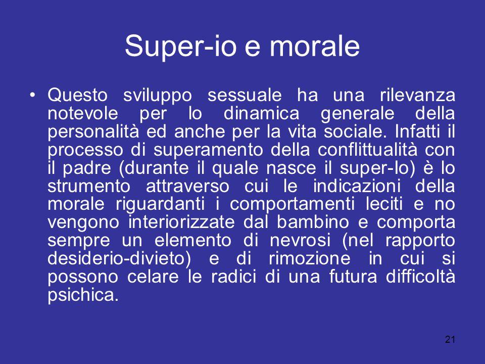 Super-io e morale