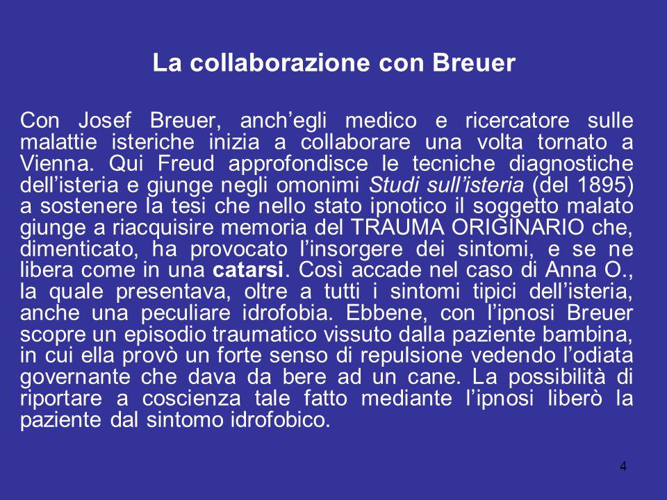 La collaborazione con Breuer