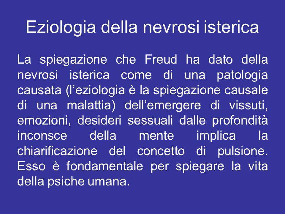 Eziologia della nevrosi isterica