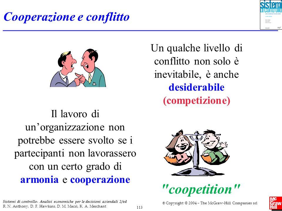 Cooperazione e conflitto