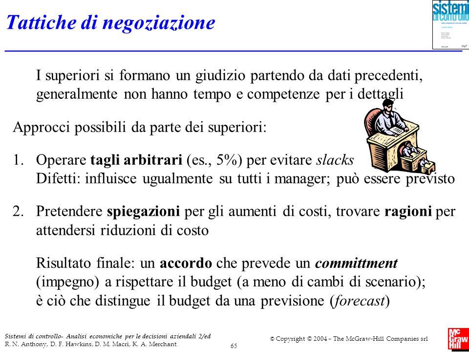 Tattiche di negoziazione