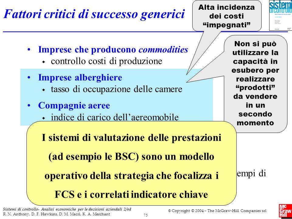 Fattori critici di successo generici