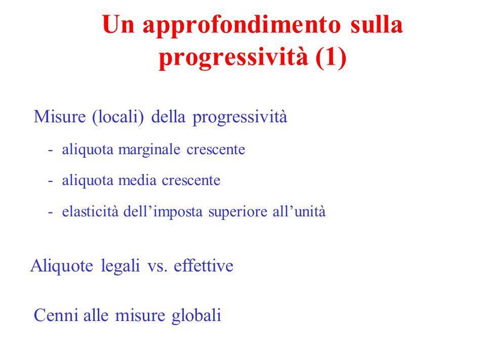 Un approfondimento sulla progressività (1)