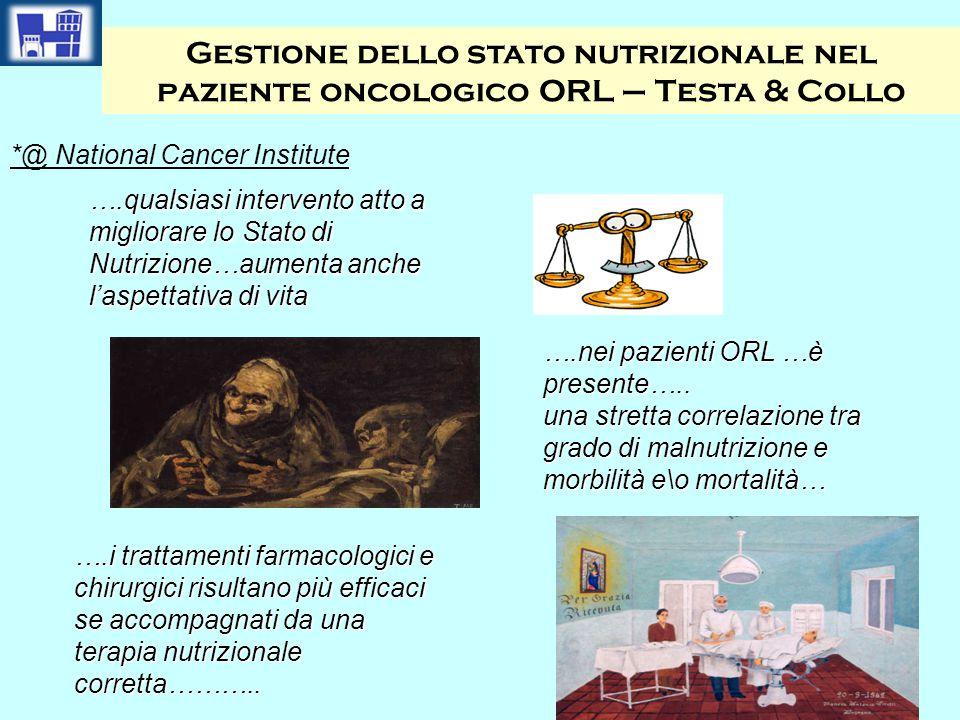 Gestione dello stato nutrizionale nel