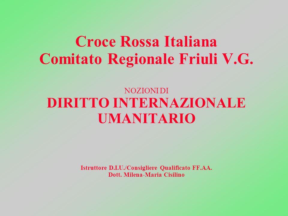 Croce Rossa Italiana Comitato Regionale Friuli V. G