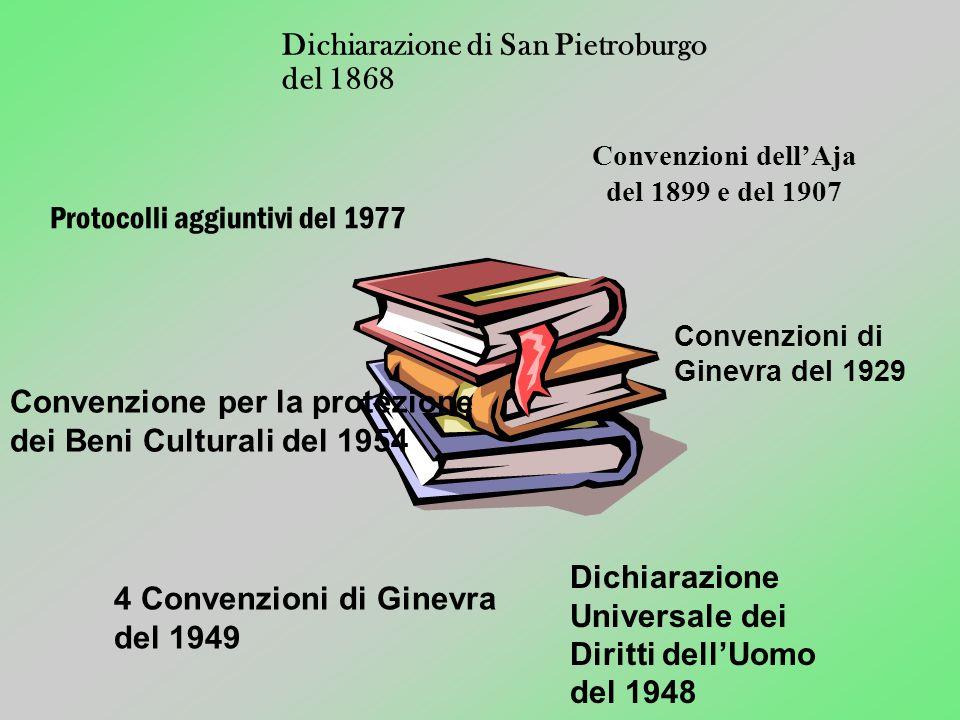 Convenzioni dell'Aja del 1899 e del 1907