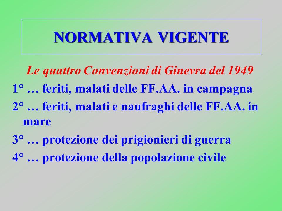 Le quattro Convenzioni di Ginevra del 1949