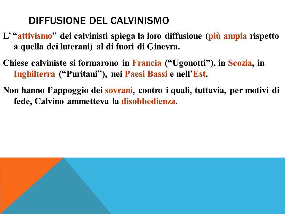 Diffusione del calvinismo