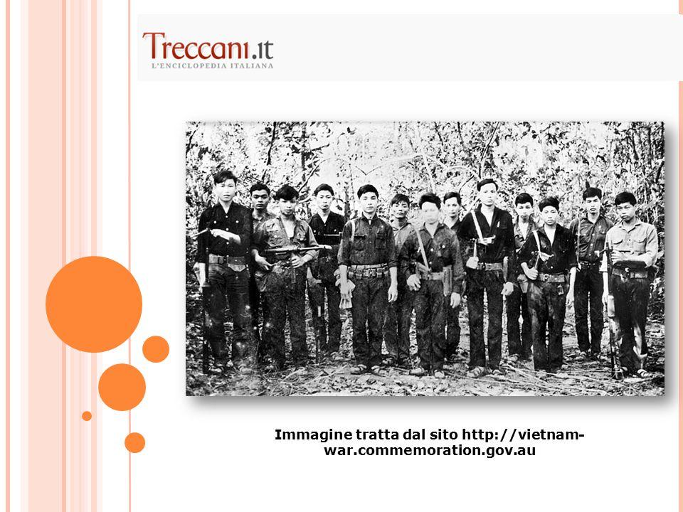 Immagine tratta dal sito http://vietnam-war.commemoration.gov.au