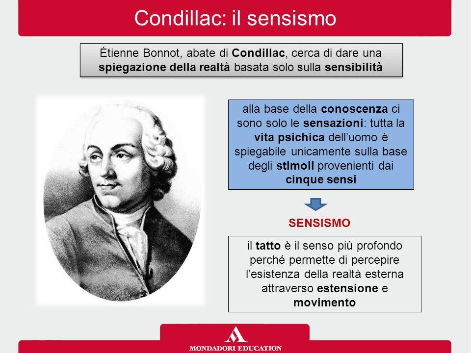 Condillac: il sensismo