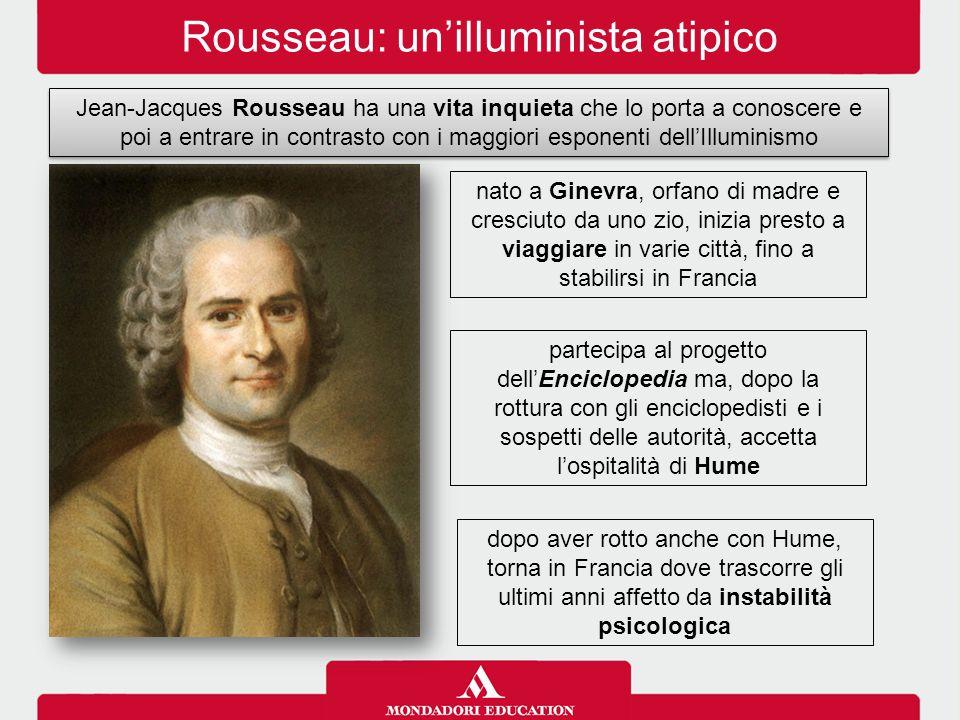 Rousseau: un'illuminista atipico