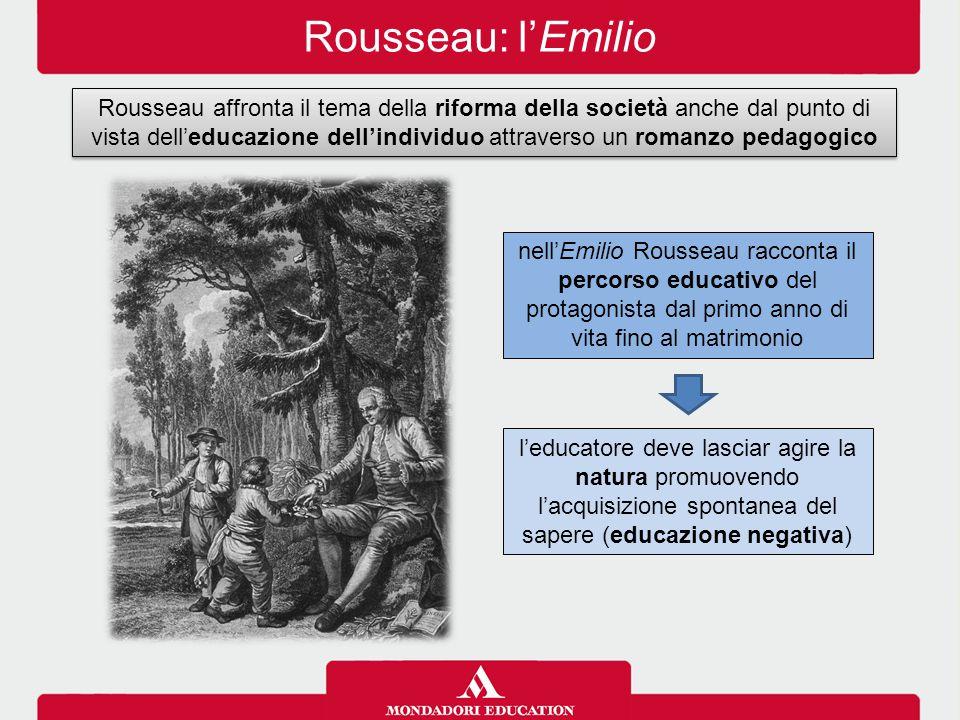 Rousseau: l'Emilio