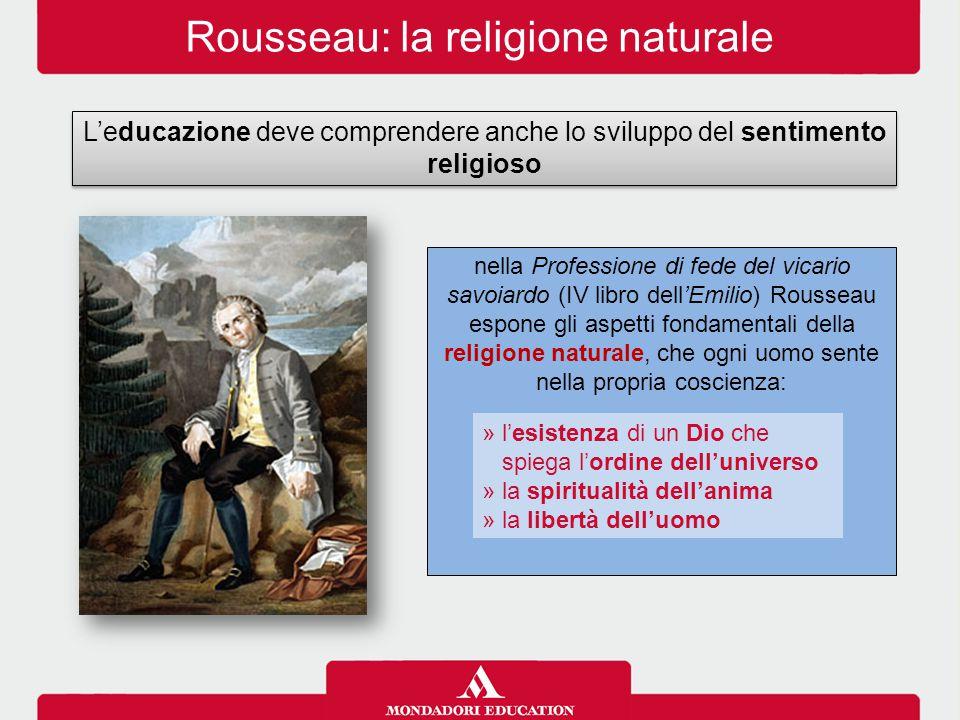 Rousseau: la religione naturale