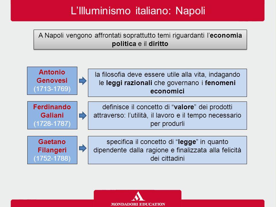L'Illuminismo italiano: Napoli