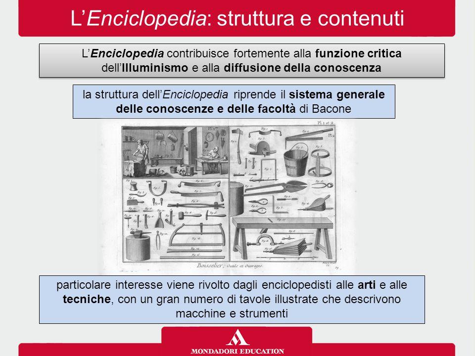 L'Enciclopedia: struttura e contenuti