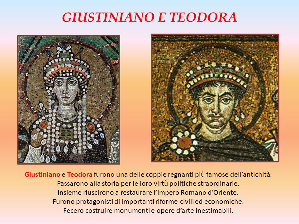 GIUSTINIANO E TEODORA