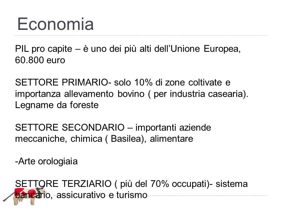 Economia PIL pro capite – è uno dei più alti dell'Unione Europea, 60.800 euro.
