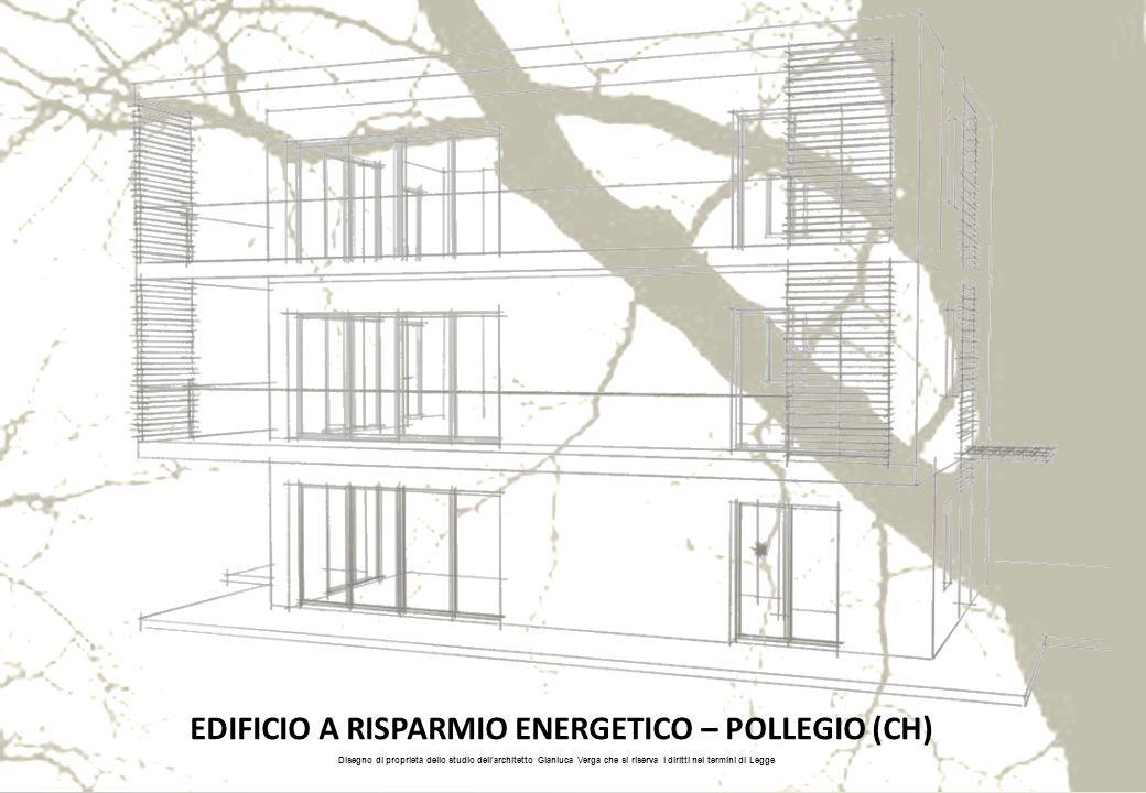 EDIFICIO A RISPARMIO ENERGETICO – POLLEGIO (CH)