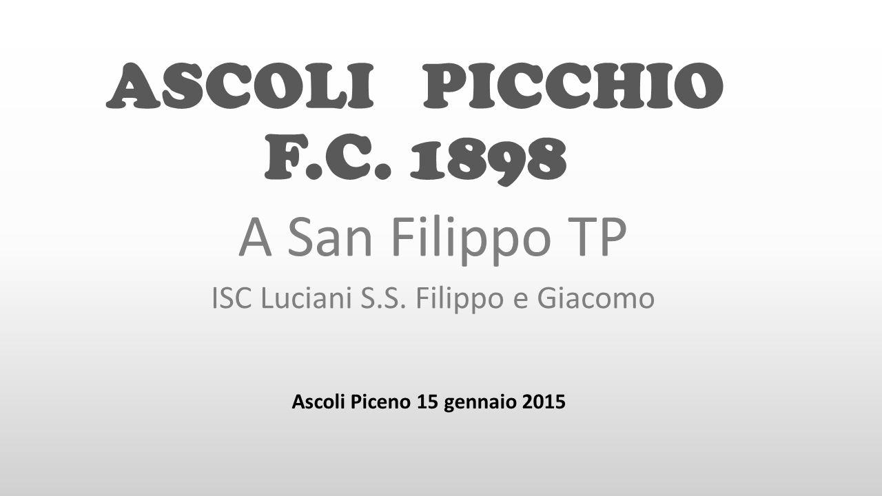 A San Filippo TP ISC Luciani S.S. Filippo e Giacomo