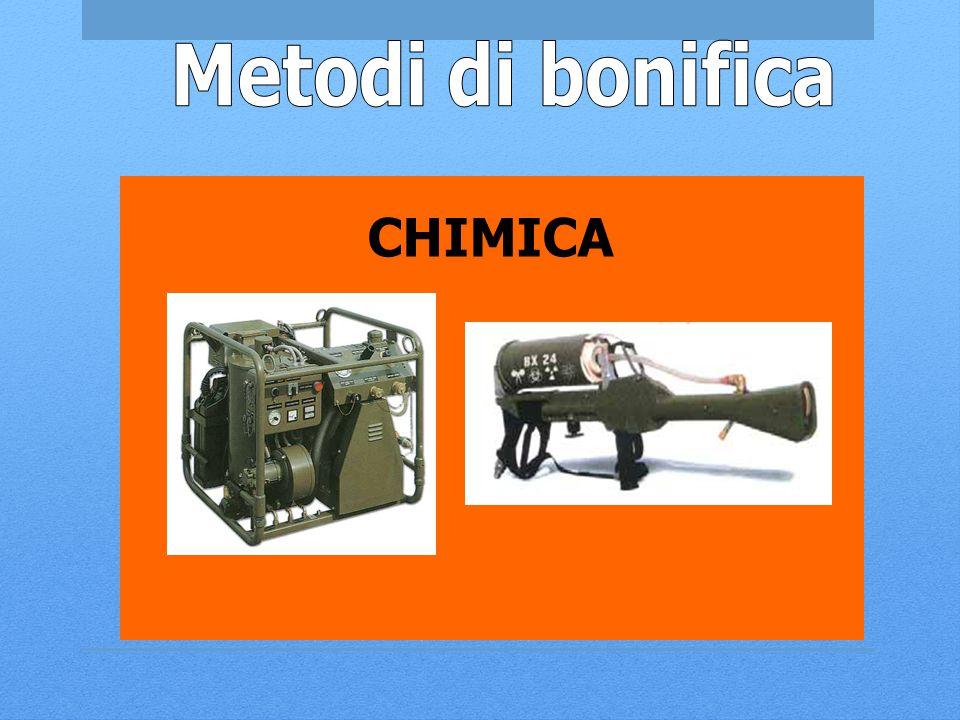 Metodi di bonifica CHIMICA