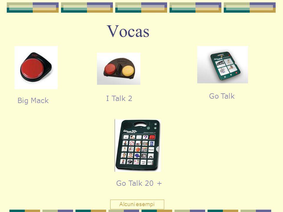 Vocas Go Talk I Talk 2 Big Mack Go Talk 20 + Alcuni esempi