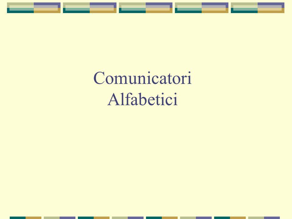 Comunicatori Alfabetici