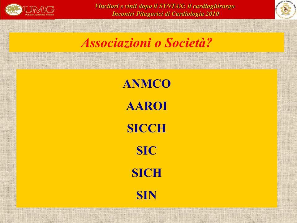 Associazioni o Società