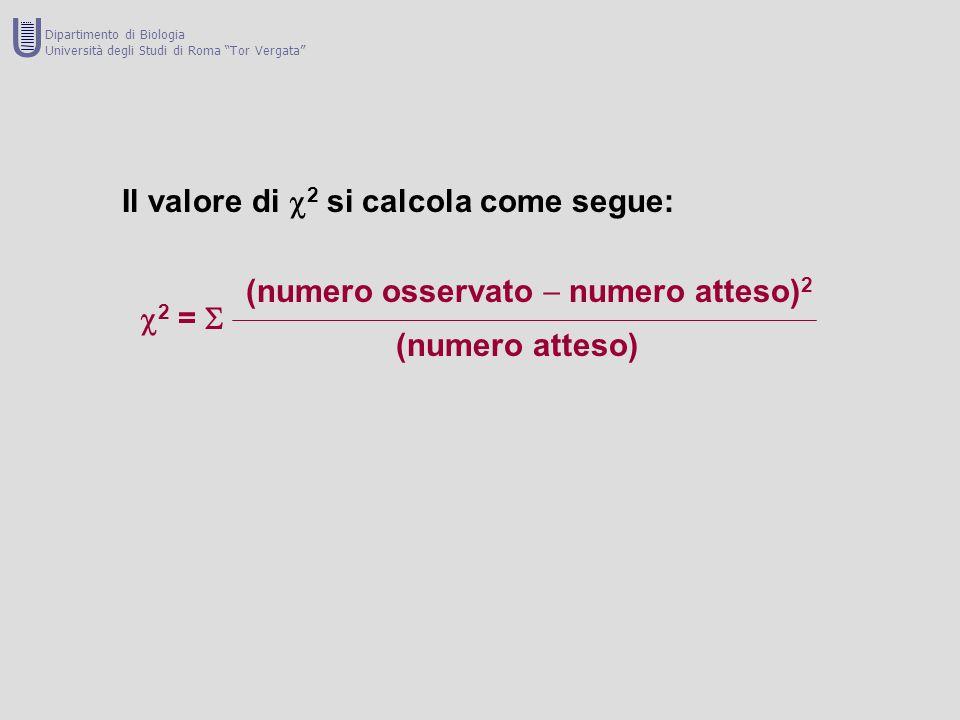 U Il valore di 2 si calcola come segue: