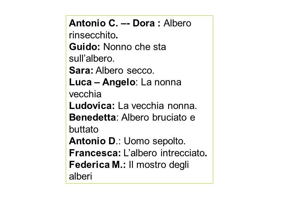 Antonio C. –- Dora : Albero rinsecchito.