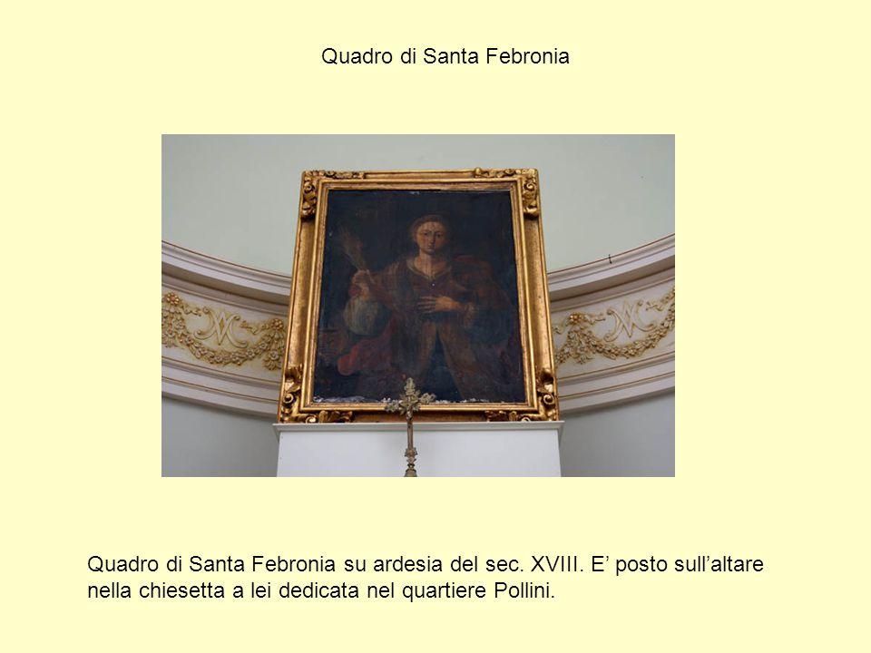 Quadro di Santa Febronia
